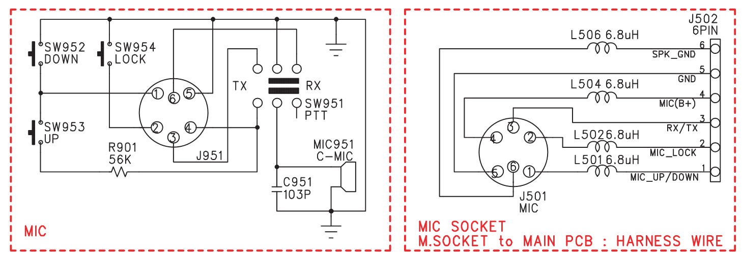 Fine Mikrofonikytkentoja Cb Harraste Wiring Digital Resources Minagakbiperorg